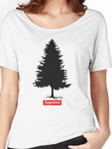 Supreme Tree Women's Relaxed Fit T-Shirt