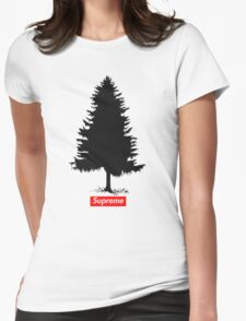 Supreme Tree Womens Fitted T-Shirt