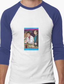 Carpenter Jack Burton & Snake Plissken Men's Baseball ¾ T-Shirt