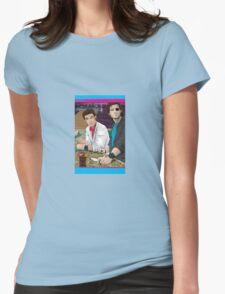 Carpenter Jack Burton & Snake Plissken Womens Fitted T-Shirt