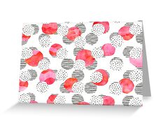 Flamingo Pink Greeting Card