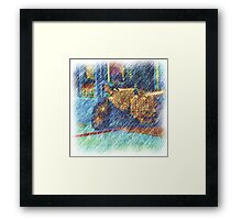 Street Scene West End Framed Print