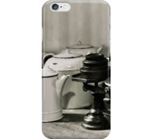 Dunham Massey -Scale and pots iPhone Case/Skin