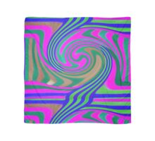 Abstract Swirl Scarf