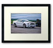 Saleen Ford Mustang 302 Framed Print