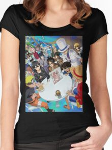 Manga Crossover Women's Fitted Scoop T-Shirt