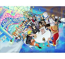 Manga Crossover Photographic Print