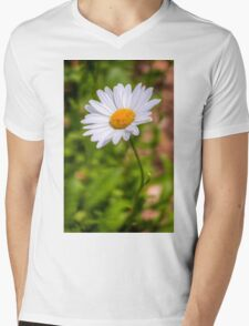 Daisy 2 Mens V-Neck T-Shirt