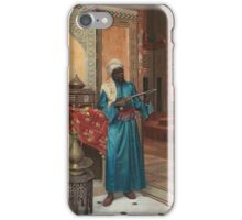 RUDOLF WEISSE B.  BOHEMIAN - THE PALACE GUARD iPhone Case/Skin