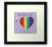 Rewriting Love Film Framed Print