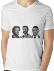 The Trifecta Mens V-Neck T-Shirt