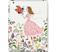 My pet the ladybug iPad Case/Skin