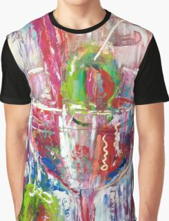 Shaken not Stirred, by Alma Lee Graphic T-Shirt