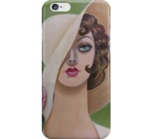 A Vintage and Lovely Lady iPhone Case/Skin