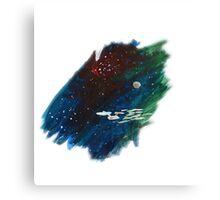 Space painting: USS Enterprise Canvas Print