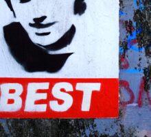 George Best Portraiture  Sticker