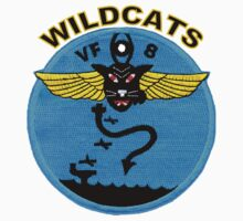 VF-8 Wildcats Patch Kids Tee