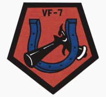 VFA-7 Horseshoes Patch Kids Tee