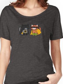Shadow & Ginger - Crime fighting heroes! (Neko Atsume) Women's Relaxed Fit T-Shirt