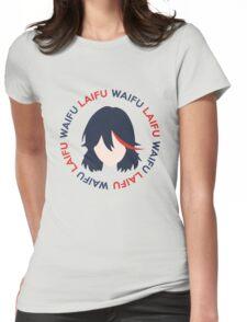 Waifu Laifu Anime Shirt Womens Fitted T-Shirt