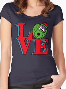 Phanatic LOVE Women's Fitted Scoop T-Shirt