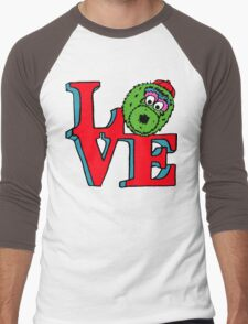 Phanatic LOVE Men's Baseball ¾ T-Shirt