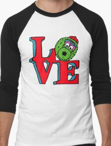 Phanatic LOVE Men's Baseball ¾ T-Shirt
