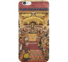 The durbar of Akbar Shah II, India, Mughal, Delhi, first half 19th Century iPhone Case/Skin