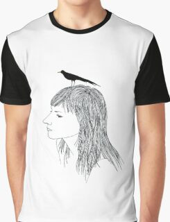 Turn into a Bird Graphic T-Shirt