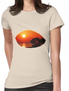 Dawn in the South first series Womens Fitted T-Shirt
