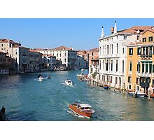 Venice River Photographic Print