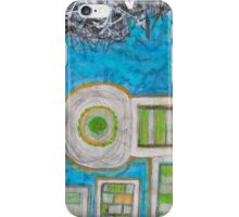 Blue and the Transformation Process iPhone Case/Skin