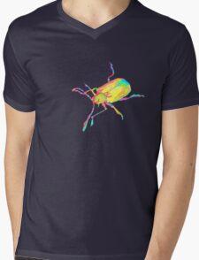 Dogbane leaf beetle - PSYCHEDELIC Mens V-Neck T-Shirt