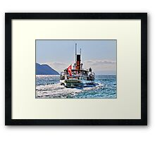 'La Suisse' on Lake Geneva, Switzerland Framed Print
