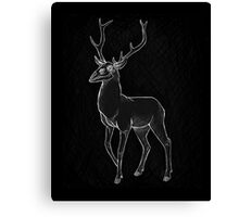 Nightmage Stag Canvas Print