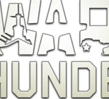 War thunder logo Sticker