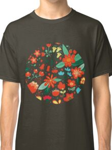 Cute flowers for Valentines Day Classic T-Shirt
