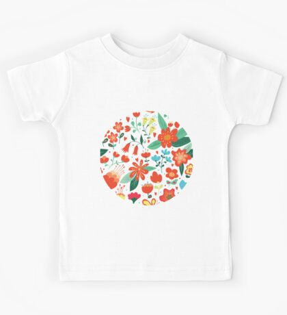 Cute flowers for Valentines Day Kids Clothes