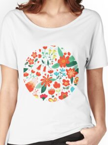 Cute flowers for Valentines Day Women's Relaxed Fit T-Shirt