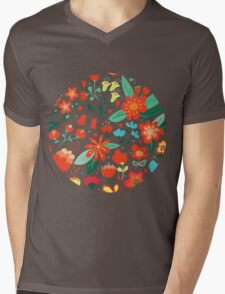 Cute flowers for Valentines Day Mens V-Neck T-Shirt