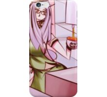 Barista girl color iPhone Case/Skin