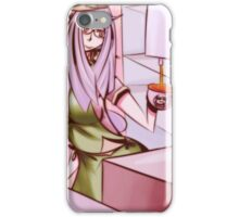 Barista girl color iPhone Case/Skin