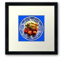 Hungarian Meatballs Framed Print