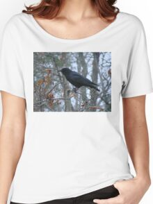 Winter Crow Women's Relaxed Fit T-Shirt