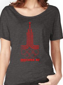 Moscow Olympics 1980 Women's Relaxed Fit T-Shirt