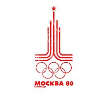 Moscow Olympics 1980 Photographic Print