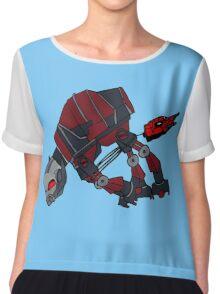 """""""Like when they were on the snow planet"""" (No Text) Chiffon Top"""