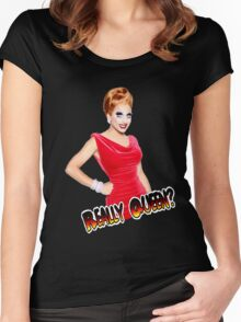Really queen (Bianca Del Rio) Women's Fitted Scoop T-Shirt