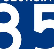 Atlanta Interstate 85 Sign Sticker