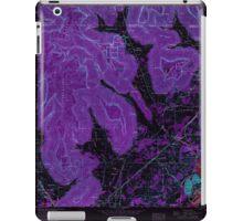 USGS TOPO Map Alabama AL Doran Cove 303698 1967 24000 Inverted iPad Case/Skin